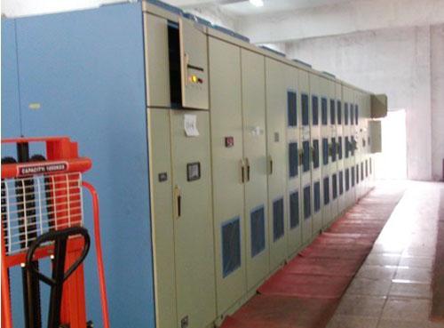 超大功率高压变频器在淮钢6000kw烧结主抽风机同步电机上的应用